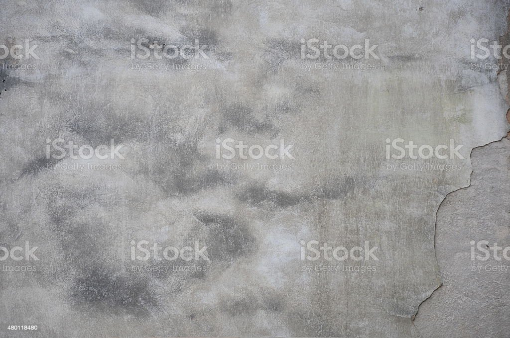 Old white wall stock photo