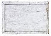 istock Old white weathered wooden panel. 531631158