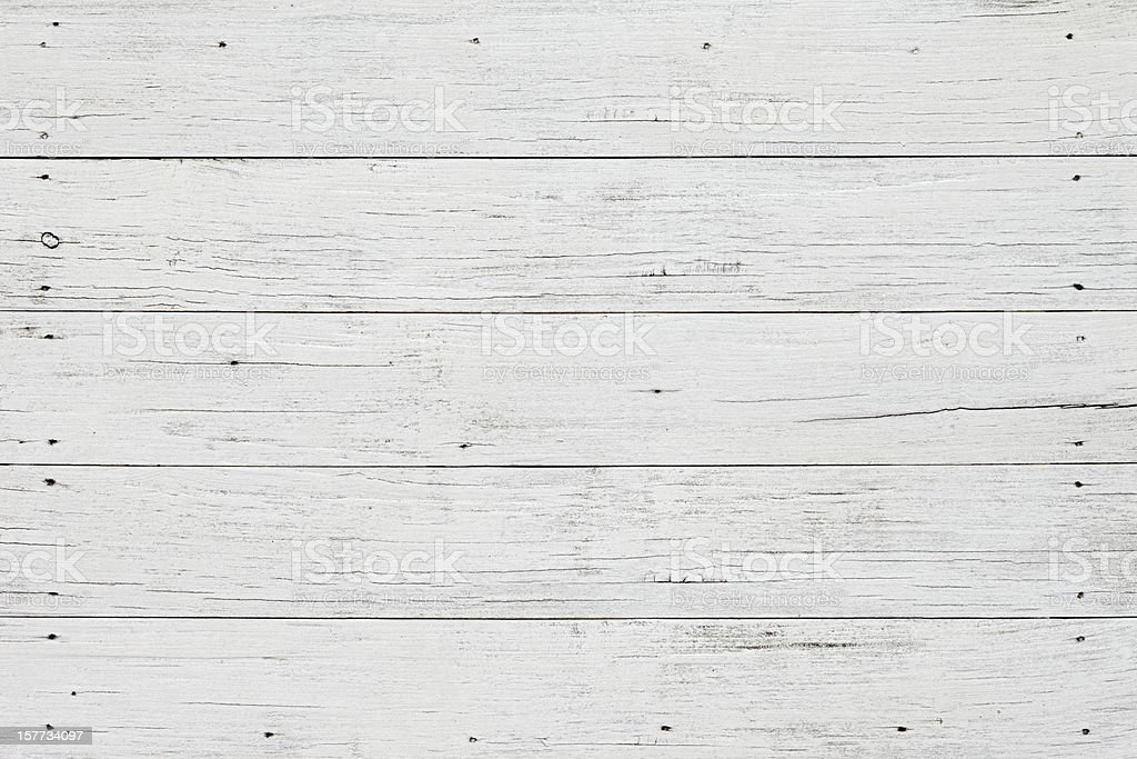 Old white wooden board background. royalty-free stock photo