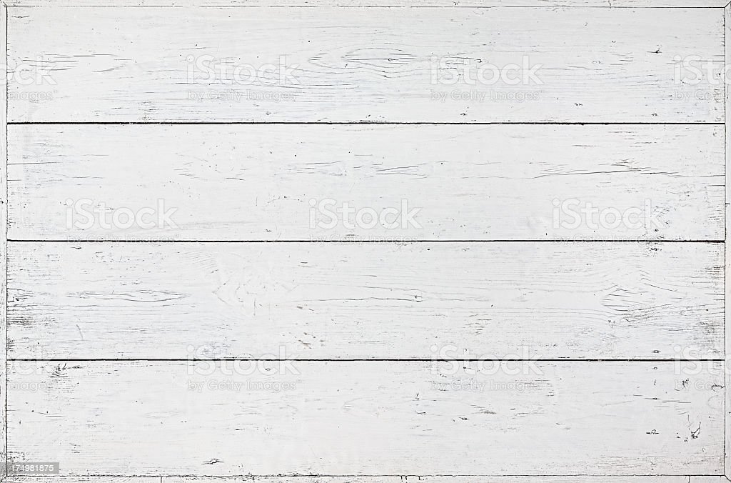 Old white wooden table background. royalty-free stock photo