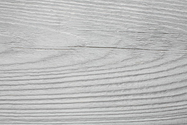 Old Whitewashed Wooden Board As A Background Stock Photo