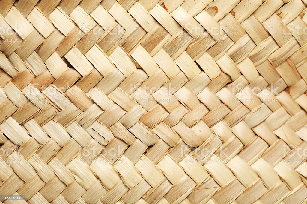 Old wicker background royalty-free stock photo