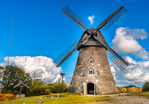 Old windmill, Europe
