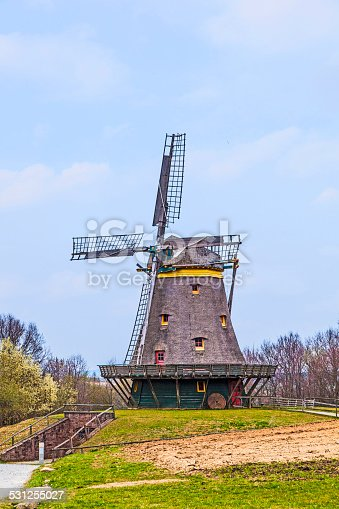 istock old windmill in the Hessenpark 531255027