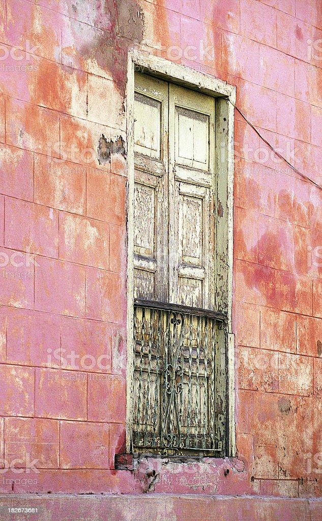 Old window, Havana royalty-free stock photo