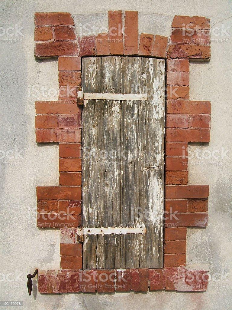 Old window royalty-free stock photo