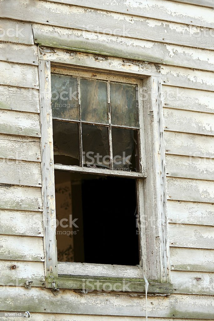 Old window royalty-free stock photo