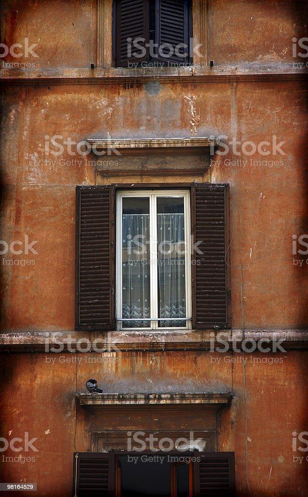 Vecchia finestra foto stock royalty-free