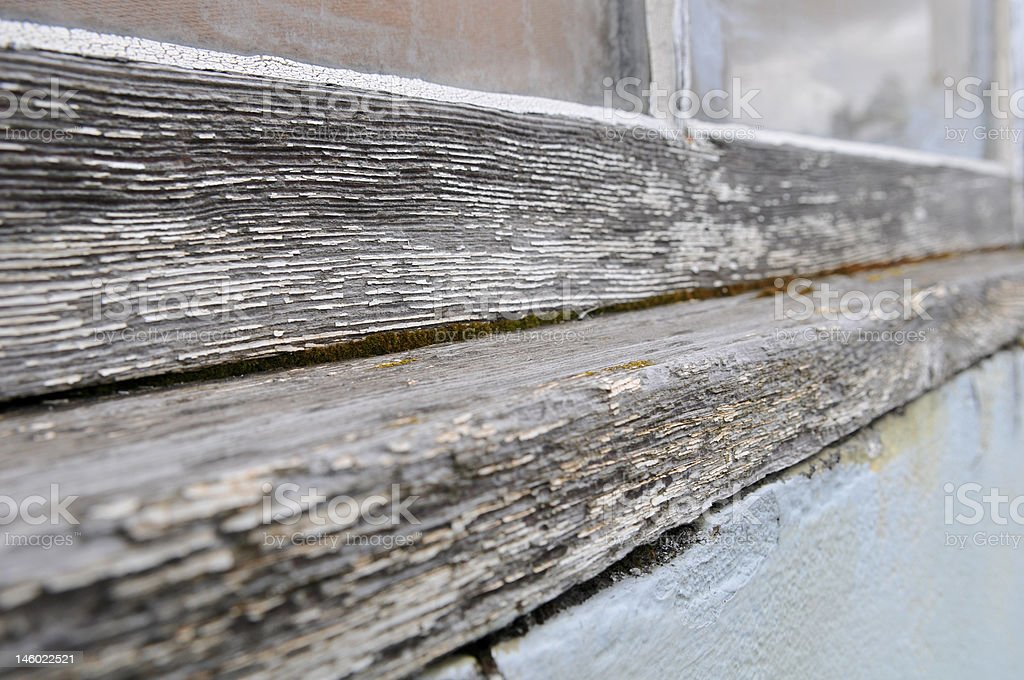 Old Window Sill royalty-free stock photo