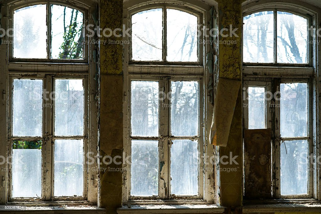 Old Windows Frames Stock Photo Download Image Now Istock