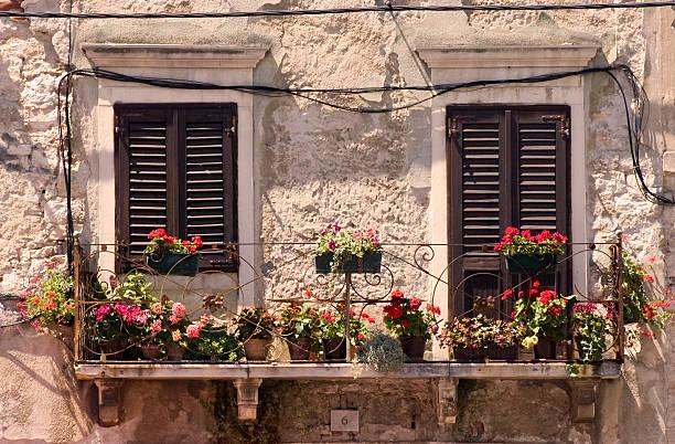 Alte Fenster in Kroatien – Foto