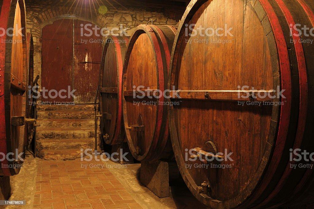 Old Wine Cellar royalty-free stock photo