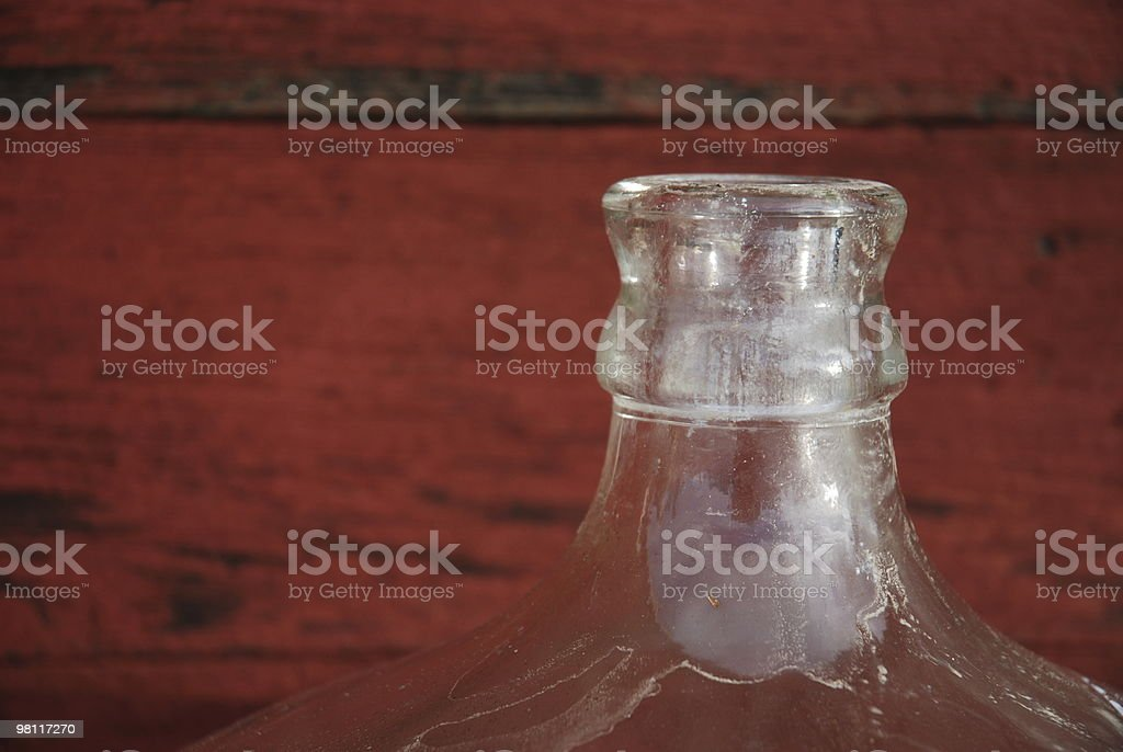 Old Wine Making Jug royalty-free stock photo