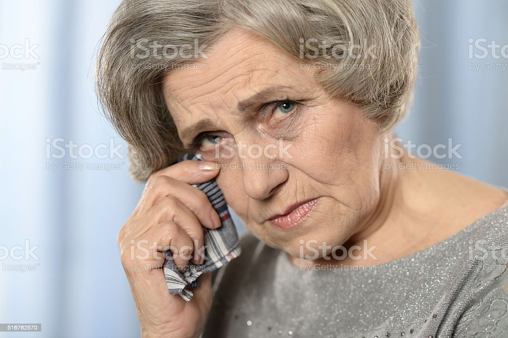 Фото старая женщина — pic 2