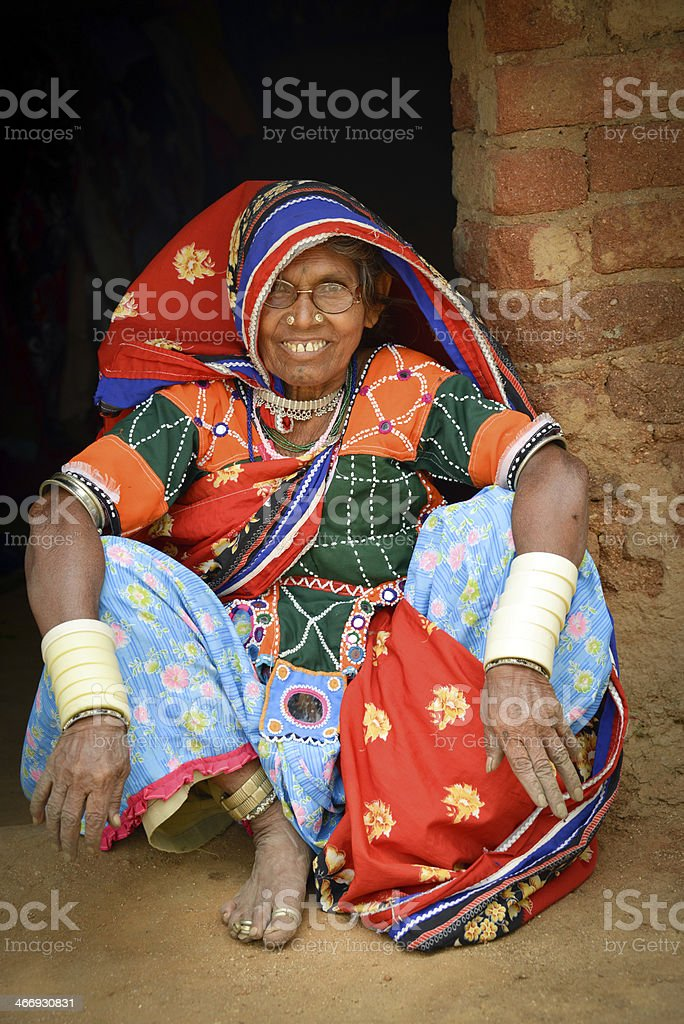 Old woman royalty-free stock photo