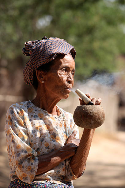 Best Granny Smoking Stock Photos, Pictures & Royalty-Free