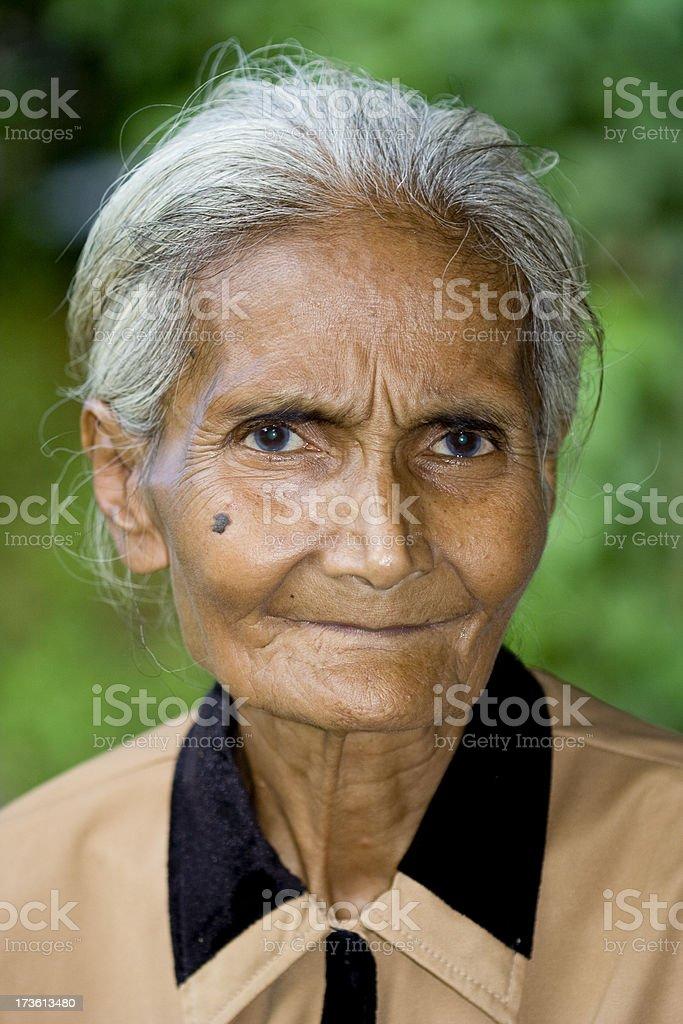 Old women royalty-free stock photo