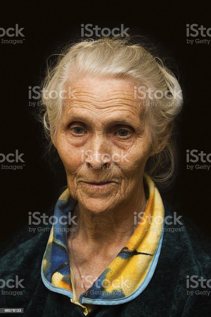 Old women - Royalty-free 80-89 jaar Stockfoto