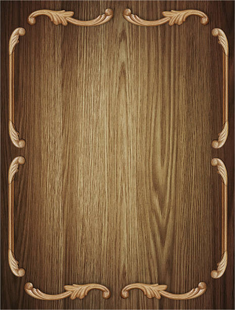 Alte Holz Hintergrund-board mit Muster – Foto