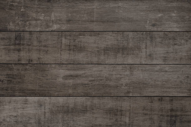 alter holzhintergrund, rustikale holzoberfläche mit kopierraum - grauflecken stock-fotos und bilder
