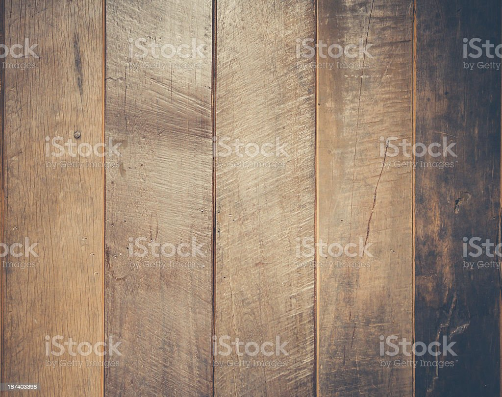Old wood background. Wooden table or floor royalty-free stock photo