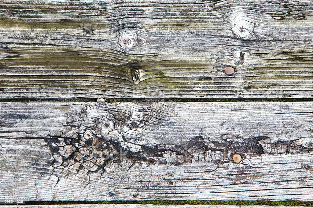 Old wood board in macro photo libre de droits