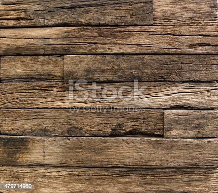 istock old wood  decorative fence wall 479714980
