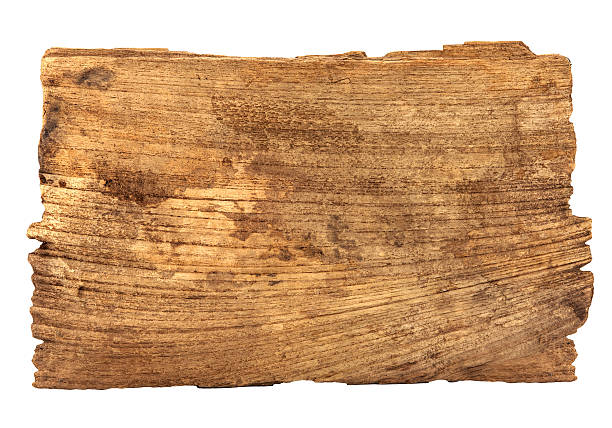 old wood old wood planks textures isolated on white, horizontal driftwood stock pictures, royalty-free photos & images