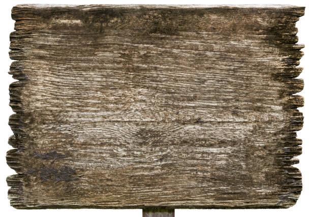 Alte hölzerne Planken unterzeichnen Texturen isoliert auf weißem Hintergrund – Foto