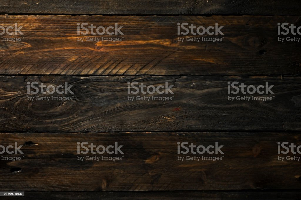 Old Wood Texture Horizontal stock photo