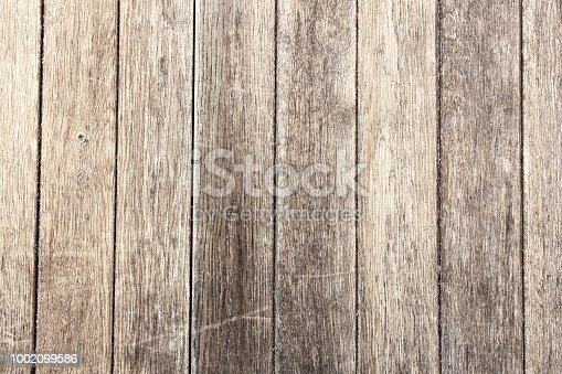 Old wood texture with natural patterns. Wooden door background.