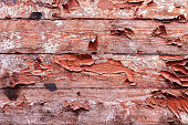 istock Old wooden background. Rustic style. Board. Wallpaper 671058236