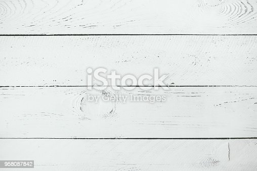 istock Old wooden background texture 958087842