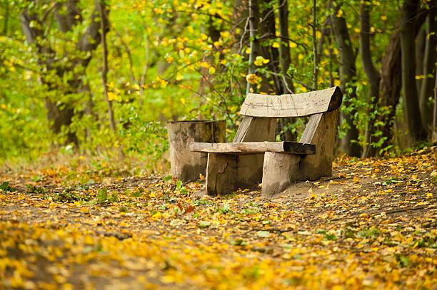 Antigua mesa de madera  - foto de stock