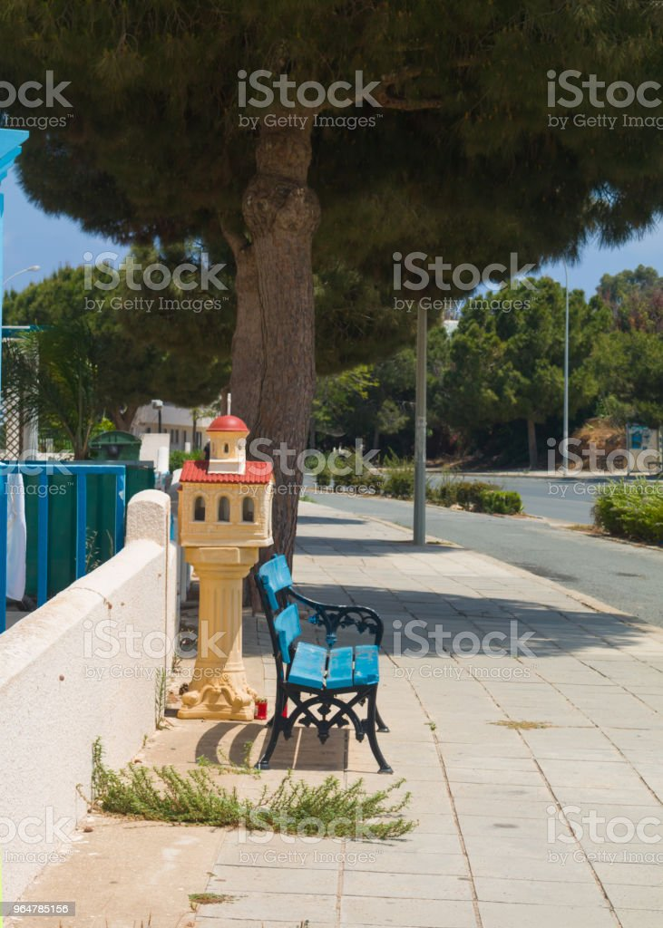 Old, wooden bench royalty-free stock photo