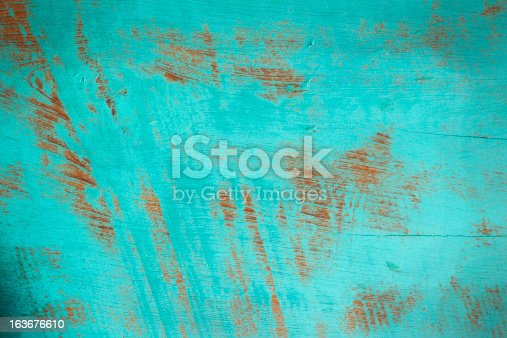 istock Old wooden board background. 163676610