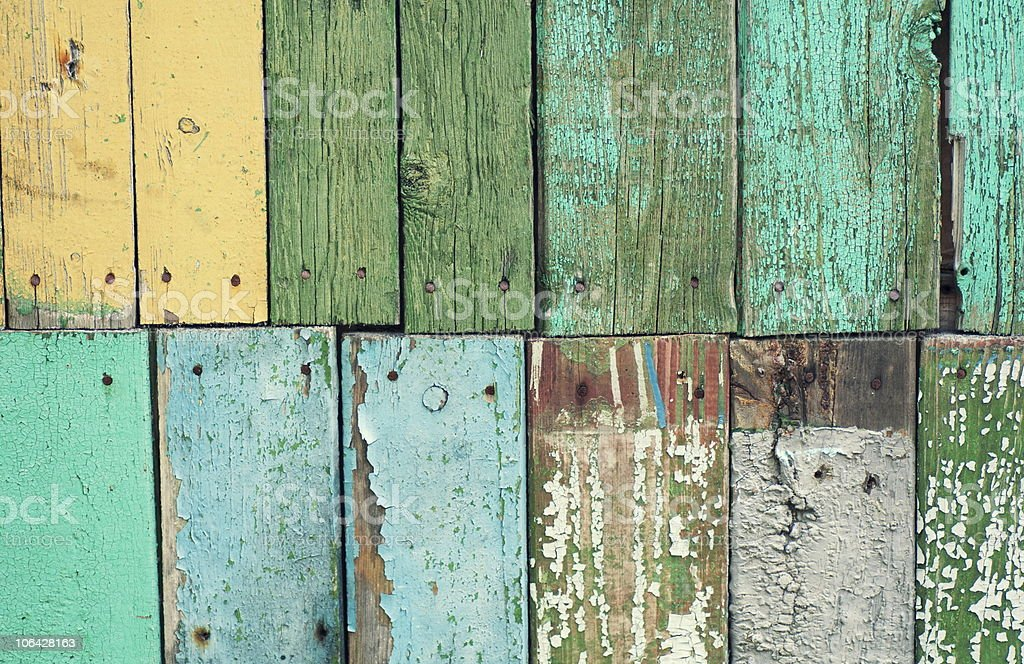 Old wooden boarding royalty-free stock photo