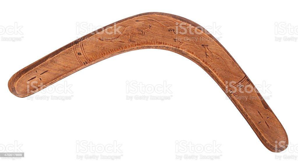Vieux bois boomerang - Photo