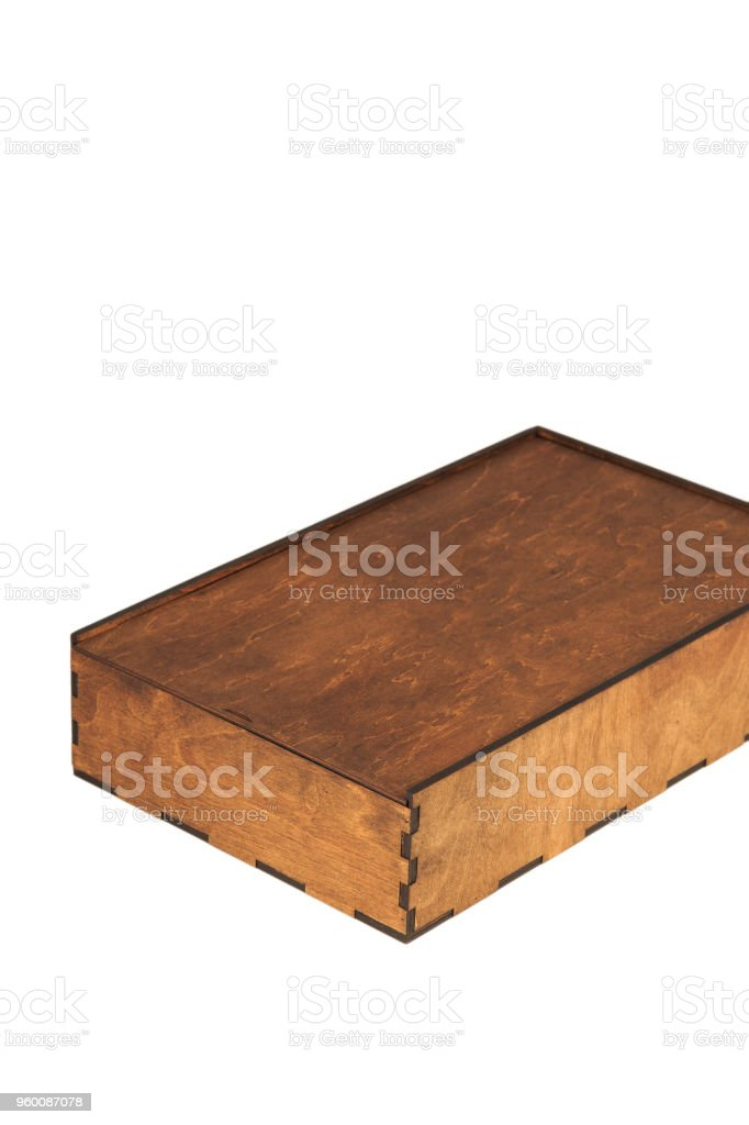 7ebec7607fe2d Old Wooden Box Isolated On White Background Stock Photo   More ...