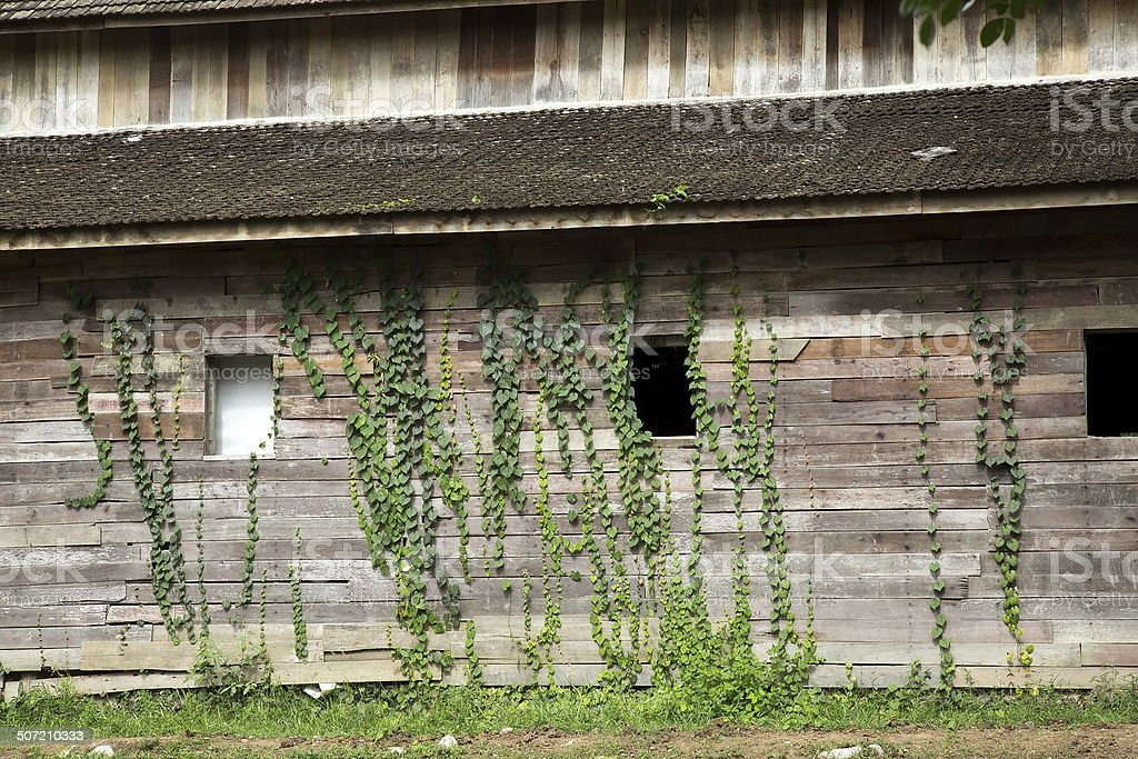Old wooden building. royalty-free stock photo