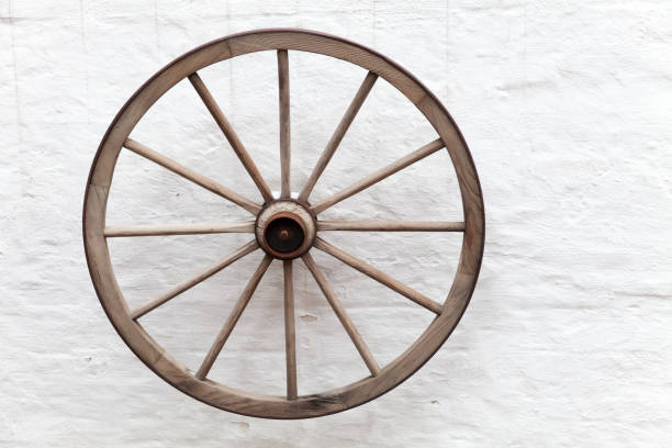 Royalty free old wooden cart wheel pictures images and stock photos old wooden cart wheel stock photo publicscrutiny Choice Image