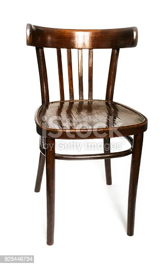 istock Old wooden chair 925446734