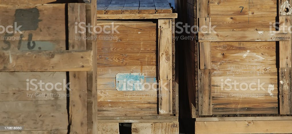 Old Wooden Crates Stock Photo Download Image Now Istock