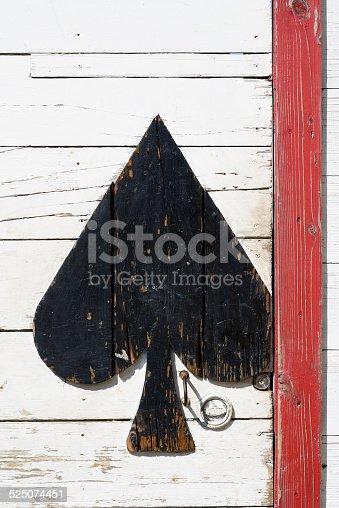 894368086 istock photo Old wooden door 525074451