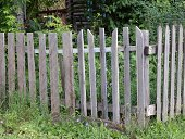 istock Old wooden fence 509442993