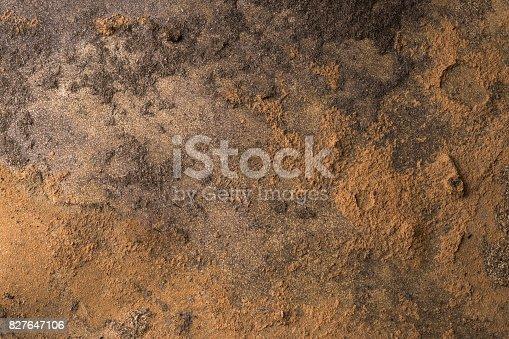 istock Old wooden floor background 827647106
