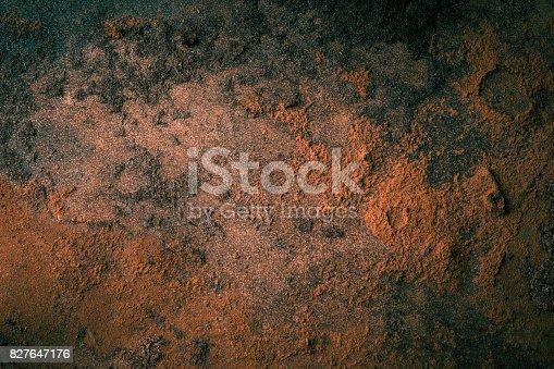 istock Old wooden floor background 827647176