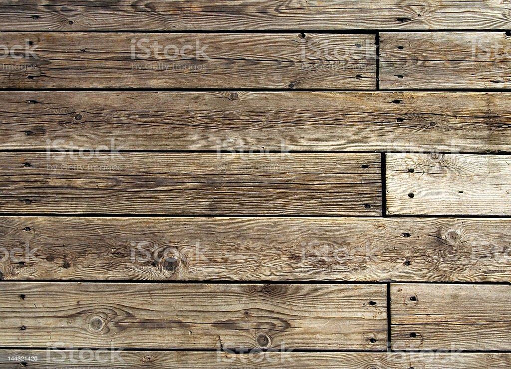 old wooden floor royalty-free stock photo