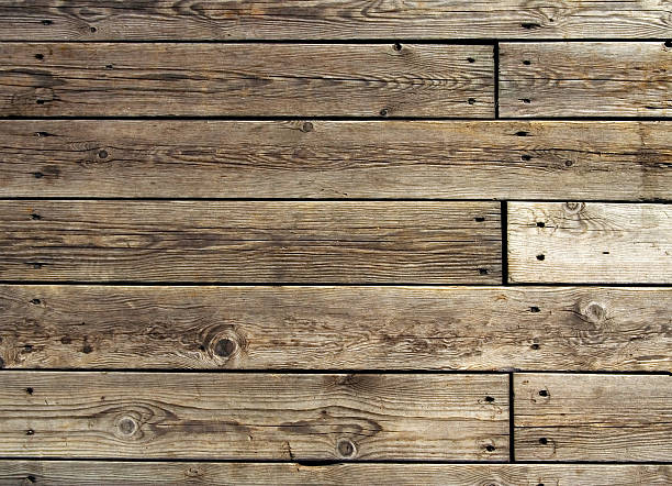 old wooden floor - pier stock photos and pictures