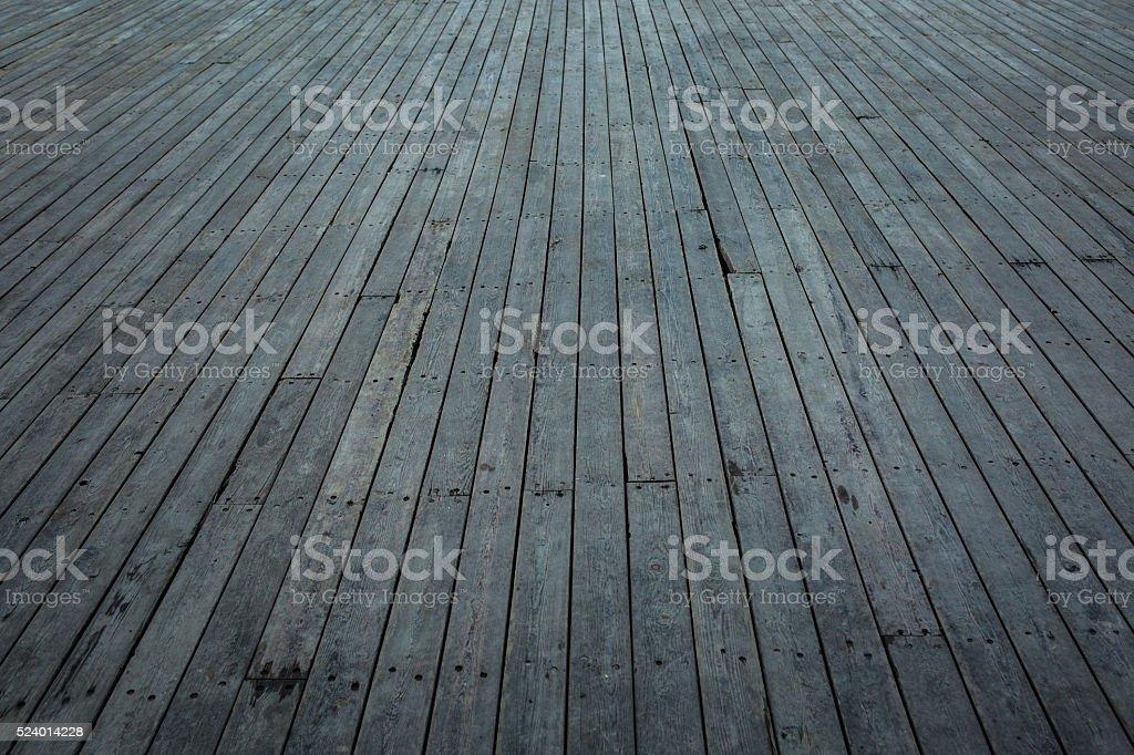 Old wooden flooring stock photo